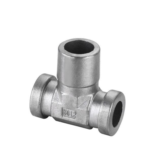 Tee Coupling Investment Casting | 304 , 316 Stainless Steel Investment Casting Pipe Fittings